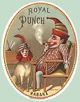 Punch Seal- cigar box label